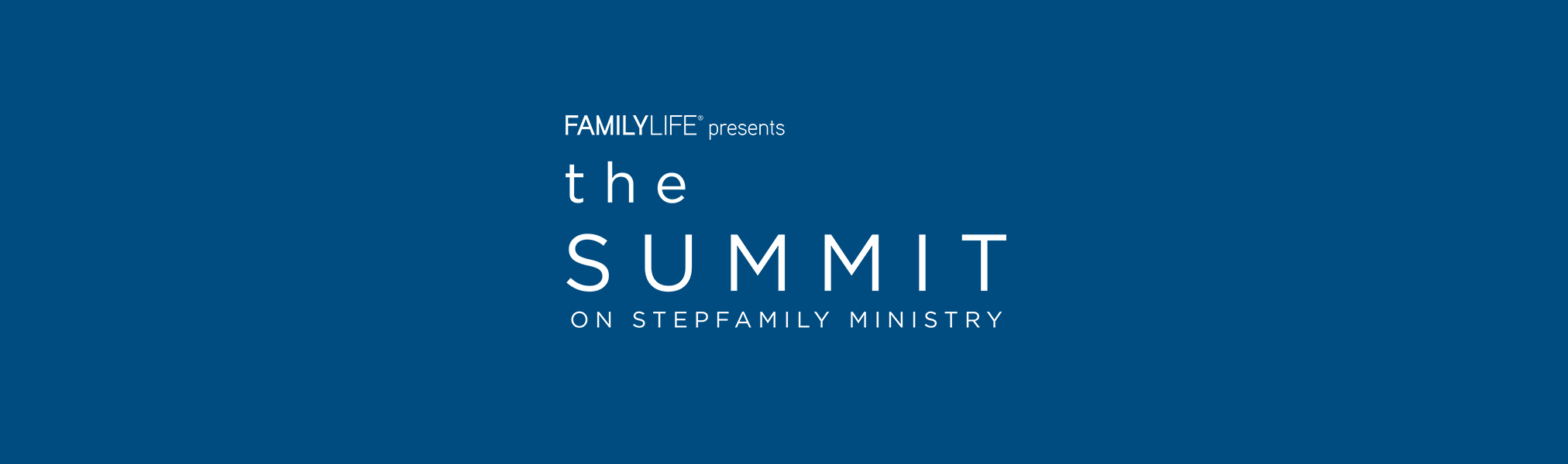 Summit On Step Family Ministries Logo